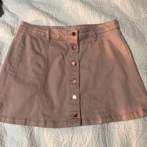 jean skirt from forever 21
